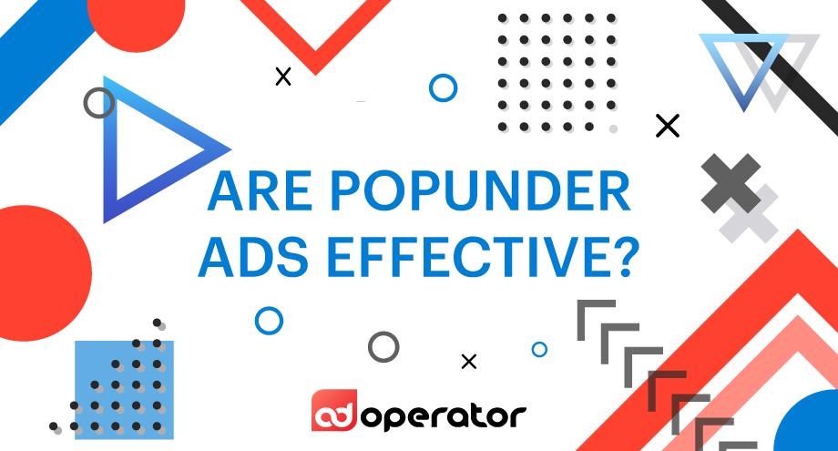 Are pop-under ads effective?